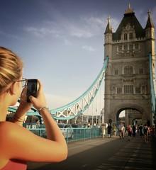 London, the Tower Bridge