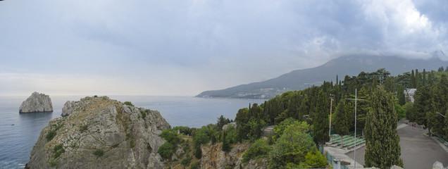 Crimea Gursuf sea travel