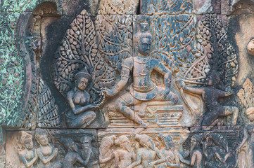 Banteay Srei Temple,Siem Reap province,Cambodia
