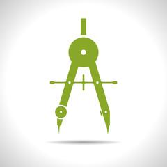 Vector compasses icon. Eps10