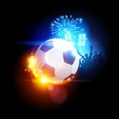 Glowing Football