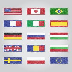 Textile flags