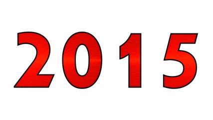2015 scratch red