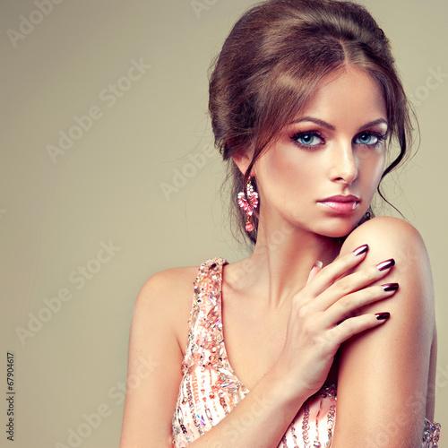 "Fashion Beauty Model Girl Stock Image Image Of Manicured: ""Fashion Beauty Model Girl. Manicure And Make-up"