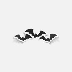 realistic design element: bat