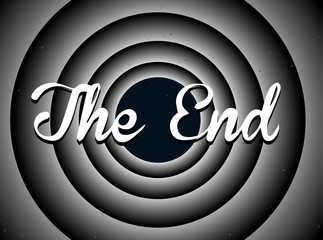 The end typography