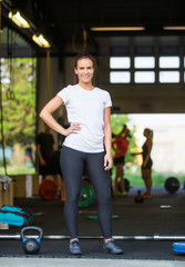 Fit Woman Standing