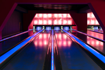 Modern luxury bowling