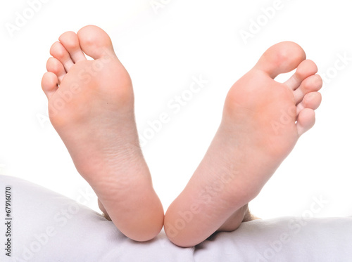 Bottoms of feet tingly