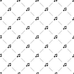 Vector seamless pattern, music