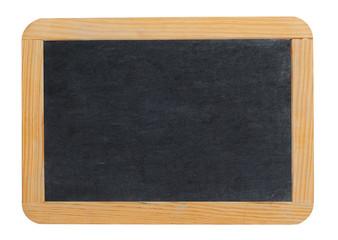 Small blank blackboard or school slate