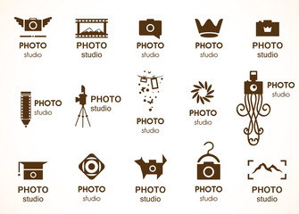 Signs for photo studio