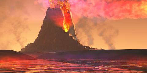 Volcanic Region