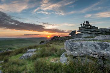 Fototapete - Bodmin Moor in Cornwall