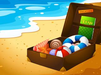 A summer vacation trip