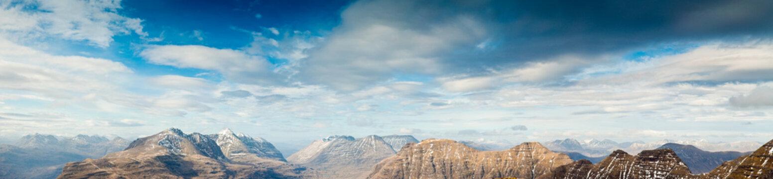 Snowcapped Mountain, Scotland