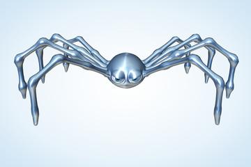 Silver Toon Spider
