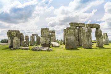 Ancient prehistoric stone monument Stonehenge near Salisbury, UK