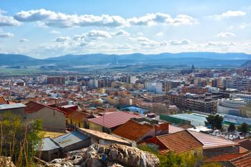 Vista panorámica de Puertollano, Castilla-La Mancha