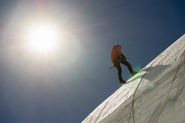 Mountaineering sport