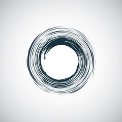 abstract circle icon