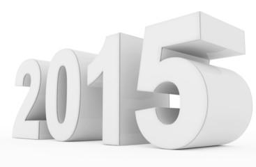 year 2015 white