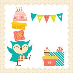 Owl birthday party