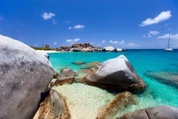 Fototapete - Stunning tropical beach
