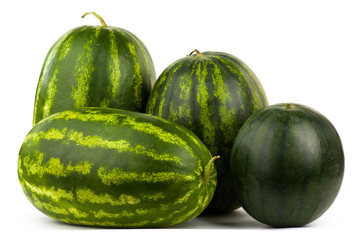 many watermelons