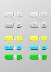 Button memory card