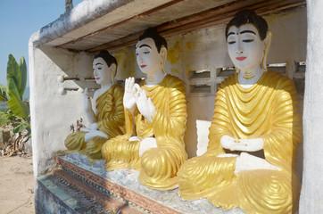 Buddha image statue Burma Style at Tai Ta Ya Monastery