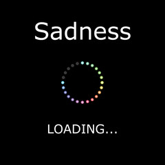 LOADING Illustration - Sadness