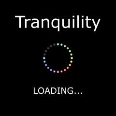 LOADING Illustration - Tranquility
