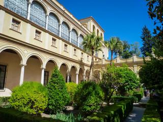 Jardin Andalousie Real Alcazar Sevilla