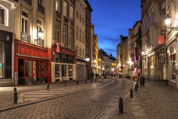 Winding Street, Brussels, Belgium
