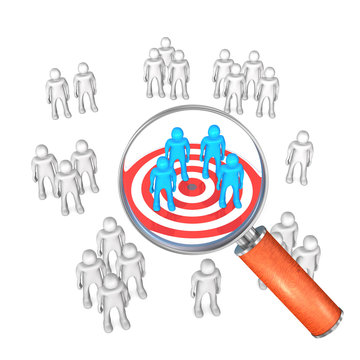 Target Audience Groups Loupe