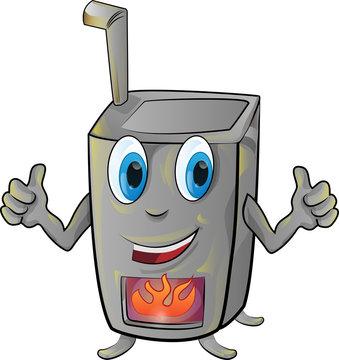 stove cartoon