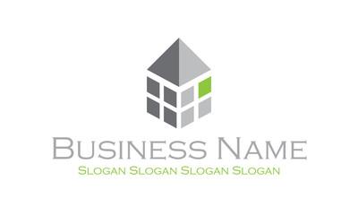 Logo architecte : décomposé