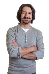 Turkish guy with crossed arms
