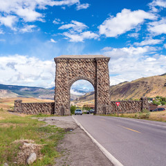 North Entrance to Yellowstone National Park