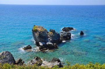 Photo of beautiuful scenery of Aegean sea