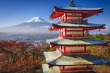 Foto op Aluminium Japan Mt. Fuji in the Fall