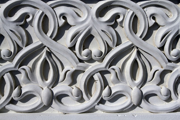 complex architectural floral ornament