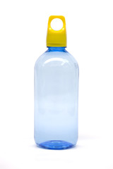 Drinking water bottle isolated.