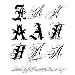 Capital letter set
