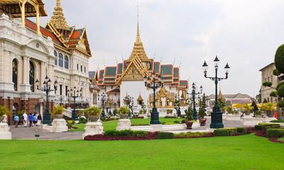 Grand Palace court in Bangkok, Thailand