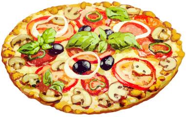 Photos Illustrations Et Vid 233 Os De Quot Dessin Pizza Quot