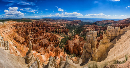 Amphitheater from Inspiration Point at Bryce Canyon National Par