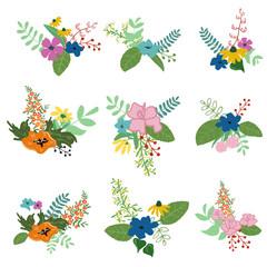 Floral bouquets