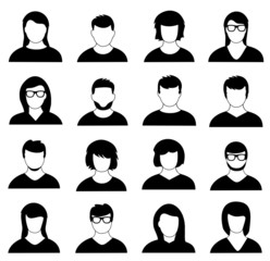 Icon Set Faces